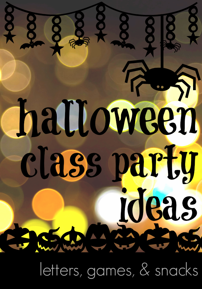 Classroom Birthday Party ~ Halloween class party ideas help for classroom parents