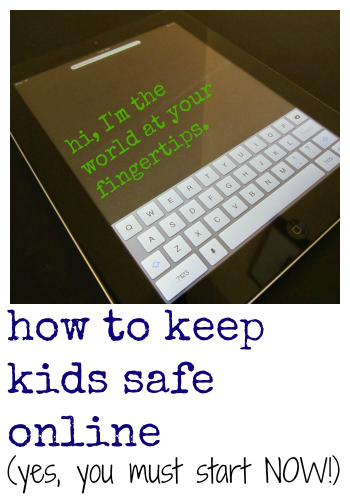 how to keep kids safe online cover