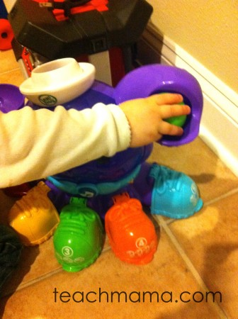 new for us friday: LeapFrog Peek-A-Shoe Octopus (& giveaway!)