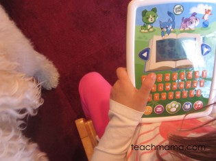 leapfrog story time pad