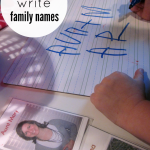family names: reading and writing the ones we love