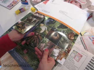 creative crafty magazine activities for kids, magazine story starters