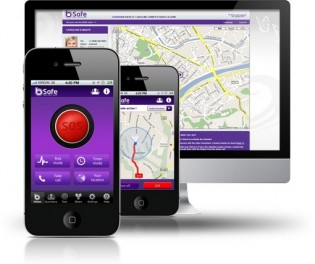 bipper bSafe FREE safety app for smart phones