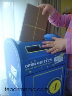 classic, creative play, cora mailbox