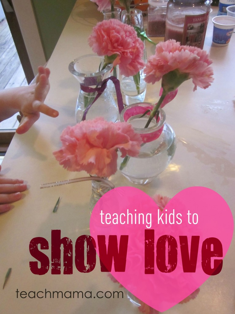 teach kids to show love
