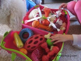 classic, creative play, melissa & doug trunki dog toys