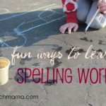 learning to spell contractions: sneaky games and play