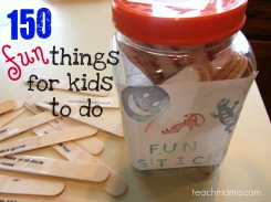 fun for kids and families: