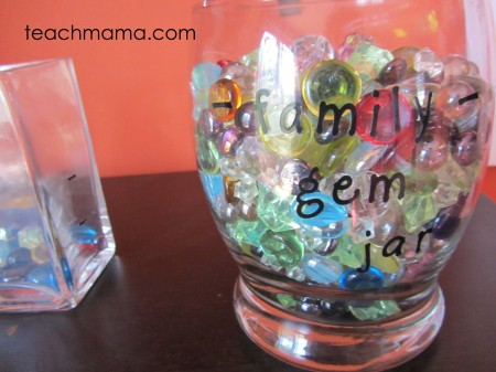 gem jars 2.0 for family behavior and allowance