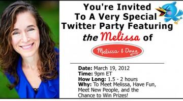 meet THE melissa of melissa & doug!