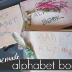 homemade alphabet book: get personal with the abc's