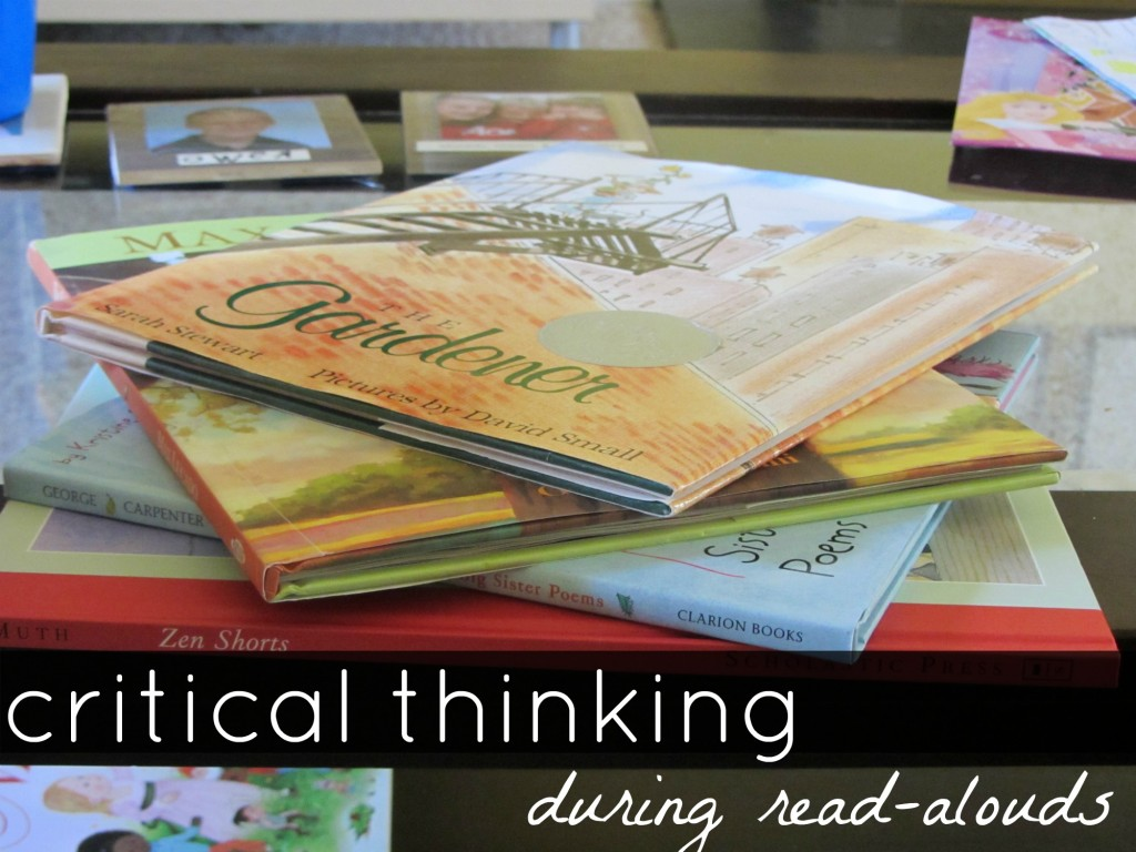 read-alouds, critical thinking, new literacies