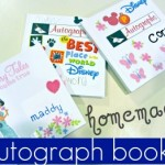 preparing kids for disney: autograph books!