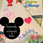 homemade disney autograph books