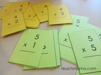 mastering multiplication tables