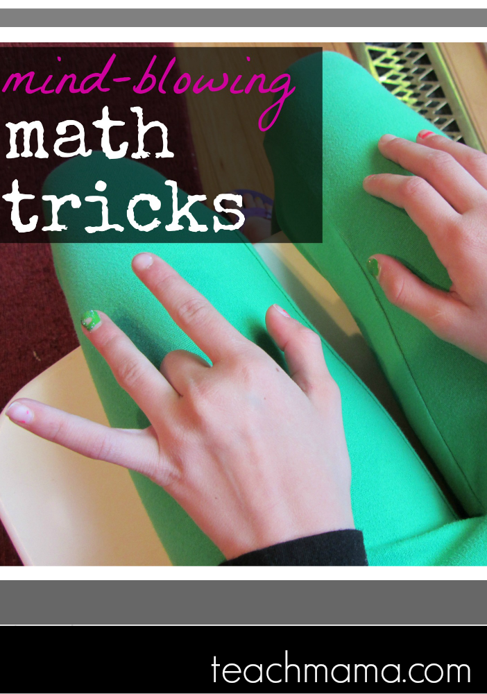 Mind Blowing Math Tricks from Fun Math Games Weekend Links on HowToHomeschoolMyChild.com