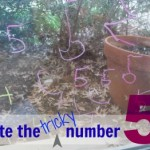 quick trick: how to teach kids to write number 5