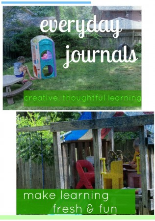 everyday journals: creative, thoughtful daily activities for kids
