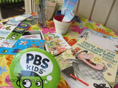summer reading: backyard book party