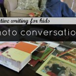 creative writing for kids: photo conversations