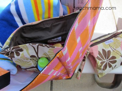 pish posh mommy pool bag