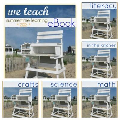 we teach summertime learning eBook, summer learning
