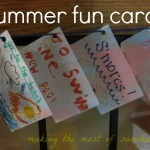 summer fun cards: making the most of our summer