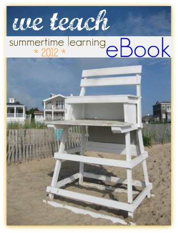 free summertime learning eBook, summer learning