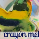 hot summer day fun: crayon melts!