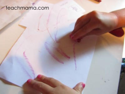 fun summer crayon craft for kids