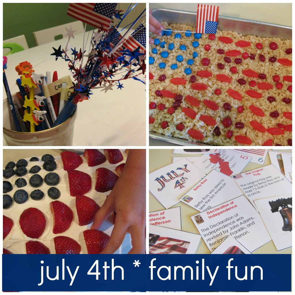 july 4th crafts and activities for kids