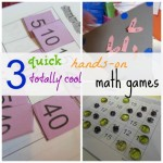 3 quick, hands-on, totally cool math games