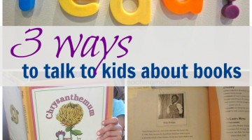 3 ways to talk to your kids about books
