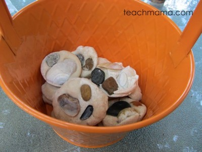 sea shell craft: simple, sea shell salt dough pretties