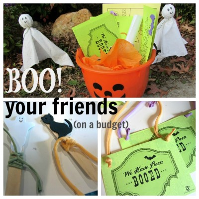 halloween giving: how to BOO your friends!
