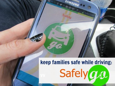 keep families safe while driving with safely