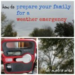 how to prepare your family for a weather emergency (especially in the dc metro area)