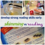 develop strong reading skills early: skimming vs reading