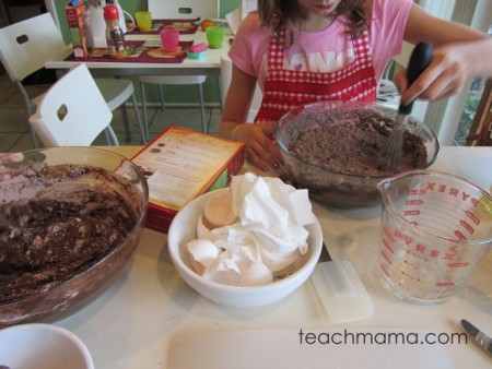kids baking for a cause: Shot@Life #blog4cause, week 2