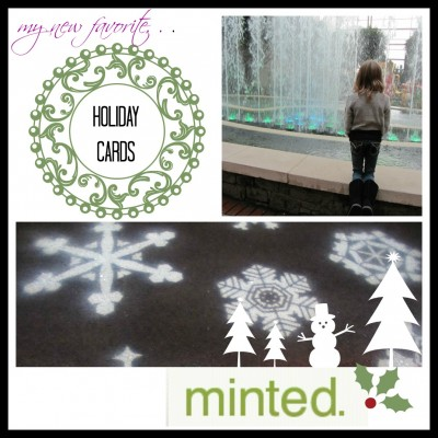 my new fave holiday cards: minted