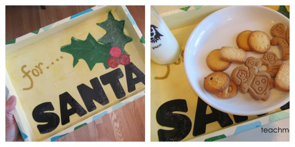 sweet homemade santa tray final
