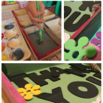 wooden thank you trays: recycled toy love