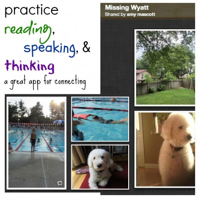 practice reading, speaking, and thinking: an app for connecting