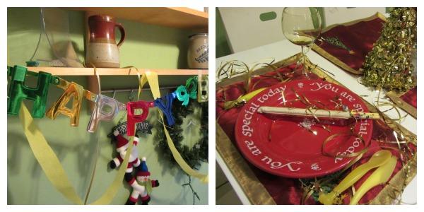 golden birthday decorations
