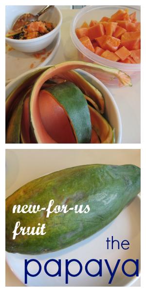 papaya new for us fruit