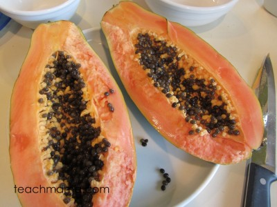 papaya new for us fruit- seeds