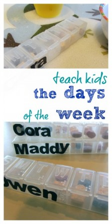 teach kids the days of the week (a super-easy way!)