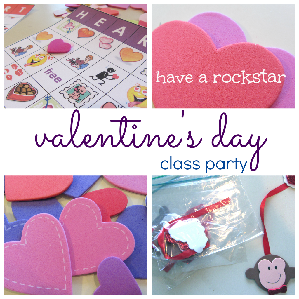 Classroom Party Ideas ~ How to throw a rockstar valentine s day class party