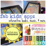 fab kids' app: interactive books, music, & more (& iPad mini giveaway!)