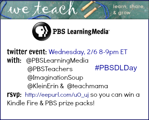 PBS LearningMedia twitter event